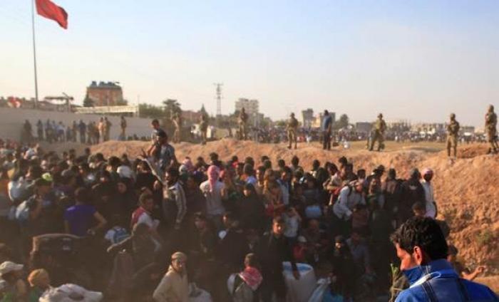 Kilis Sırına 100 Bin Mülteci Dada Yola Çıktı