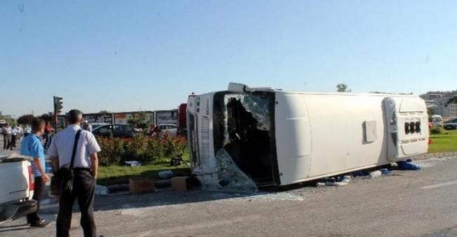 Konya'da Feci Kaza! Tır Kazasında16 Kişi...