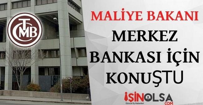 Maliye Bakanı Şimşek Merkez Bankası için Konuştu