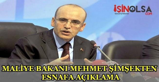 Mehmet Şimşek'den Esnafa Açıklama