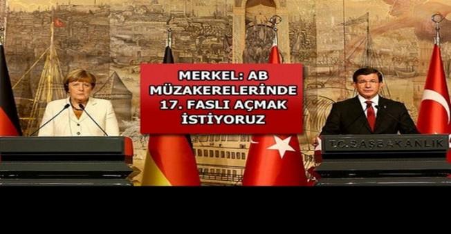 Merkel Ve Davutoğlu'dan Vize Açıklamaları