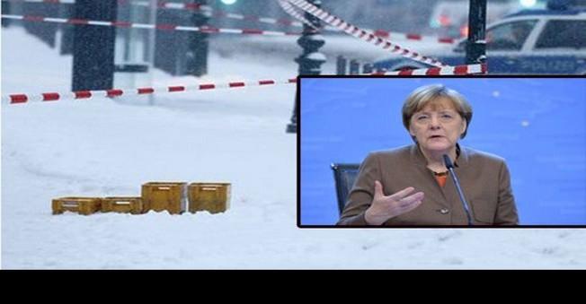Merkel'in Ofisinde Bomba Alarmı?