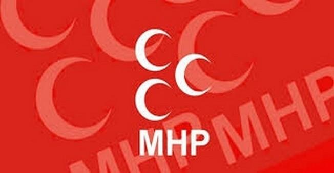 MHP'den Davutoğlu Ve Türkeş'e Resimli Gönderme