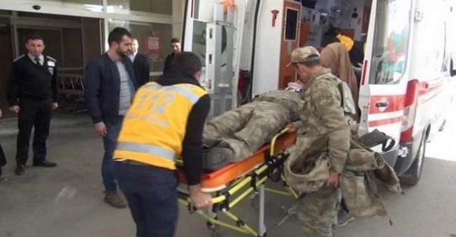 Muş'ta Askeri Arca Saldırı