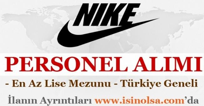 Nike Personel Eleman Alımı İş İlanları