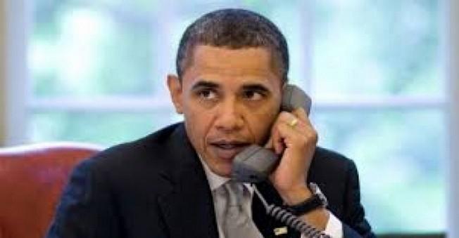Obama'dan Erdoğan ve Davutoğlu'na Telefon