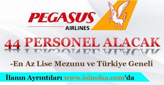 Pegasus 44 Personel Alımı Yapacak