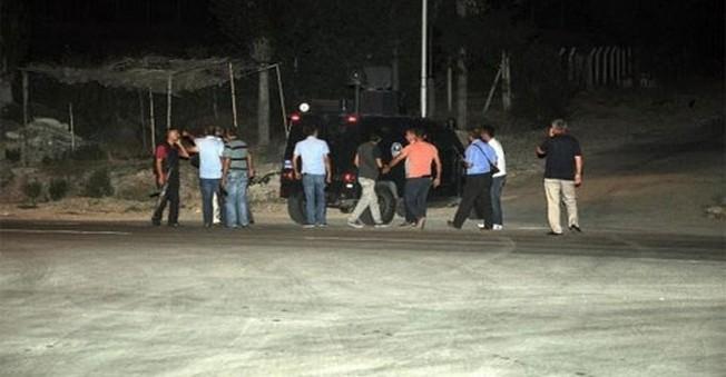 PKK'lı Teröristler Osmaniye'de Zırhlı Araca Saldırdı