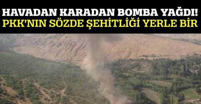 PKK'nın Şehitliğimiz Dediği Yer Dümdüz Edildi!