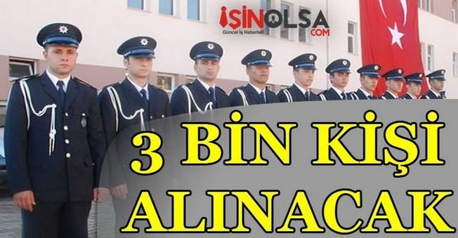 Polis Meslek Yüksekokullarına 3000 Öğrenci Alımı Yapılacak