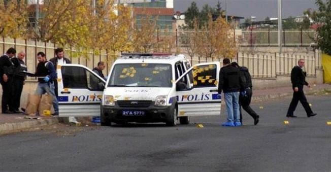 Polise Diyarbakır'da Hain Saldırı