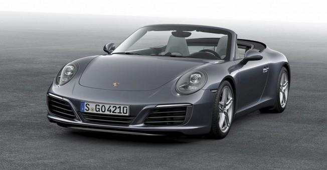 Porsche 911 Carrera'nın 2016 versiyonunu tanıtıldı