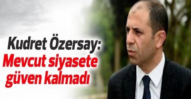 Prof. Kudret Özersay Kuracağı Parti'ye İsim Arıyor!