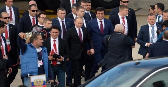 Putin G20 İçin Antalya'da
