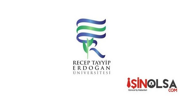 Recep Tayyip Erdoğan Üniversitesi Öğretim Elemanı Alımı
