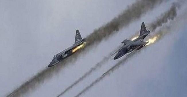 Rusya sınırda bomba yağdırdı