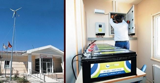 Sağlık Merkezi Enerjisini Rüzgar ve Güneşten Alıyor