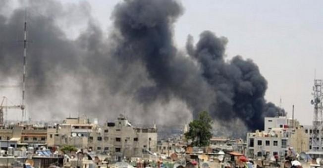 Şam'da büyük Patlama! Çok Sayıda Ölü Var!