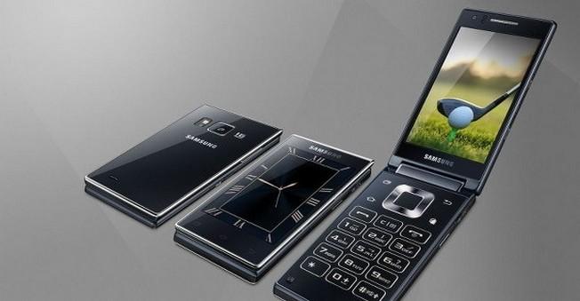 Samsung'tan Yılın Bombası !Çift Ekranlı Akıllı Telefon