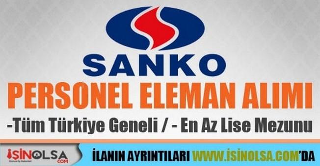 Sanko Personel Alımları