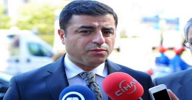 Selahattin Demirtaş'ın Dağlıca'daki Saldırı Açıklaması
