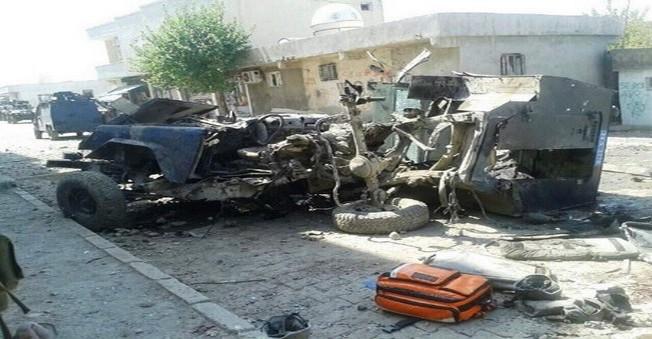 Silopi'de Zırhlı Araca Mayınlı Saldırı: 4 Polis Şehit Oldu