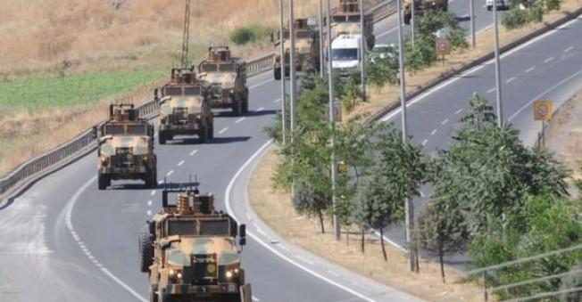 Şırna'ta 23. Jandarma Sınır Tümenin'de Büyük Hareketlilik