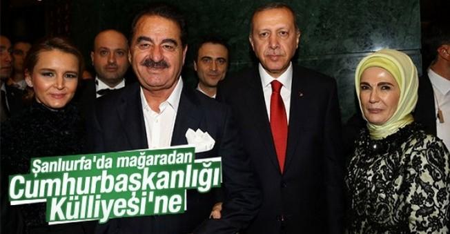 Tatlıses'de Erdoğan'ın Resepsiyonuna Katıldı