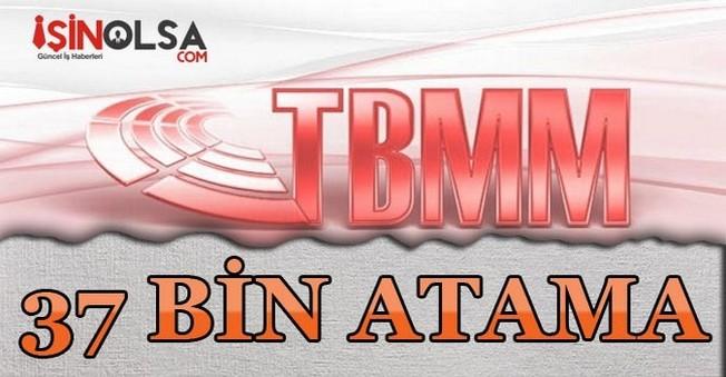 TBMM Tarafından MEB'e 37 Bin Atama İzni Verildi