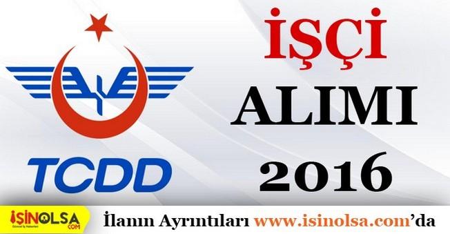 TCDD işçi Alımı 2016