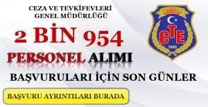 CTE 2 Bin 954 Personel Alımı İçin Son Başvurular