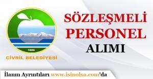 Denizli Çivril Belediyesi Sözleşmeli Personel Alımı