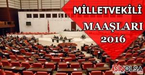 Milletvekili Maaşları 2016