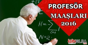 Profesör Maaşları 2016