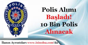 EGM Polis Alımı Yapacak! Polis Alımı POMEM Başvuruları Başladı! Başvuru Linki