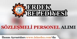 Erdek Belediyesi Sözleşmeli Personel Alımı