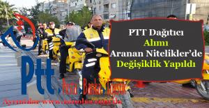 PTT Dağıtıcı Alım İlanı Başvuru Şartları 2016