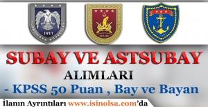 DKK, KKK ve HKK Subay ve Astsubay Alımları 2016