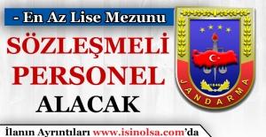 Jandarma Sözleşmeli Askeri Personel Alımı
