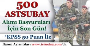 Özel Kuvvetler Komutanlığı 500 Astsubay Alımı Başvuruları İçin Son Gün!