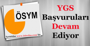 YGS Sınavı Başvuruları Devam Ediyor