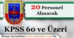 Jandarma Genel Komutanlığı 20 Sözleşmeli Personel Alıyor