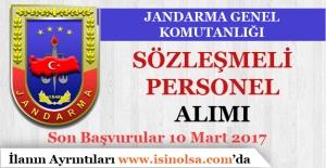 Jandarma Genel Komutanlığı KPSS'siz Sözleşmeli Personel Alımı Yapıyor