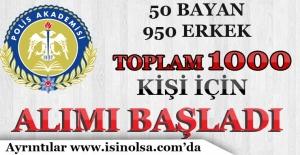 Polis Akademisi Başkanlığı 1000 Komiser Yardımcısı Alımı Başvuruları Başladı!