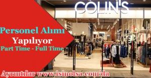 Colin's Personel Alımı Başladı! Part Time - Full Time