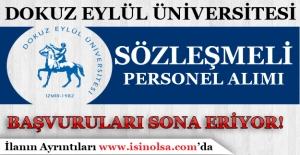 Dokuz Eylül Üniversitesi Sözleşmeli Personel Alımı Başvuruların Son Gün!