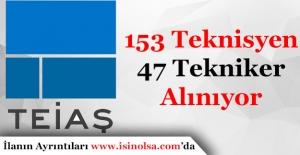 Türkiye Elektrik İletim Anonim Şirketi (TEİAŞ) 153 Teknisyen ve 47 Tekniker Alımı Yapıyor