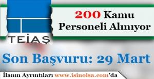 Türkiye Elektrik İletim Anonim Şirketi (TEİAŞ) 200 Kamu Personeli Alımı Başvuruları Bitiyor