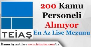 Türkiye Elektrik İletim Anonim Şirketi (TEİAŞ) 200 Personel Alımı Yapıyor