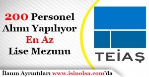 Türkiye Elektrik İletim Anonim Şirketi (TEİAŞ) 200 Personel AlımıSürüyor